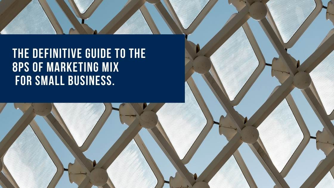 Definitive Guide to the 8Ps Marketing Mix tiles